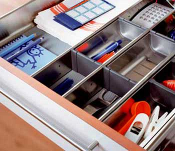 Comercial casamonte bricolaje cocinas armarios mostradores - Separadores para cajones ...