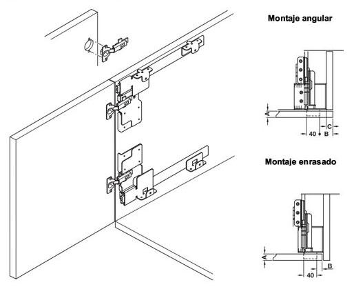 Puertas escamoteables materiales para la renovaci n de la casa - Puertas escamoteables ...